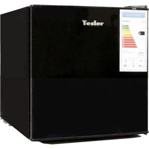 Холодильник Tesler RC-55 Black холодильник tesler rcd 480i inox