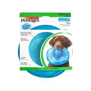 Игрушка Petstages Orka Flyer летающая тарелка 22см для собак фото