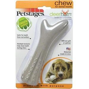 Игрушка Petstages Deerhorn косточка с оленьими рогами 16см для собак