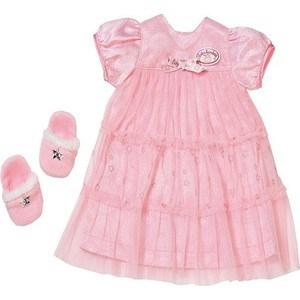 Zapf Creation Бэби Аннабель Одежда Спокойной ночи (платье и тапочки) (700-112)
