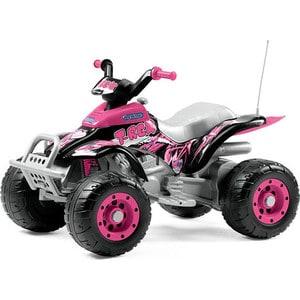 Детский электромобиль Peg-Perego Corral T-Rex (розовый) (OR0073) цена 2017