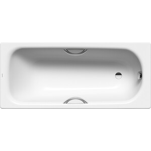 Ванна стальная Kaldewei Saniform Plus Star 335 170x70 см, с отверстиями для ручек (133500010001)