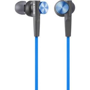 Наушники Sony MDR-XB50AP blue гарнитура sony mdr xb50ap вкладыши черный проводные