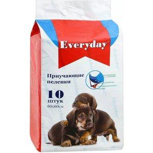 Впитывающие пеленки EVERYDAY приучающие гелевые для животных 60х60см 30шт