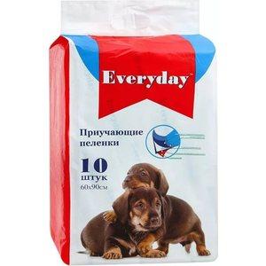 Впитывающие пеленки EVERYDAY приучающие гелевые для животных 60х90см 30шт цена
