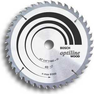 Диск пильный Bosch 190х30мм 36зубьев Optiline Wood (2.608.640.616)