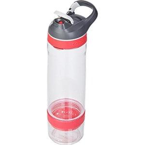 Бутылка для воды Contigo 750 мл Cortland infuser (contigo0672) бело-розовый цена