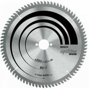 Фото - Диск пильный Bosch 254х30мм 40зубьев Optiline Wood (2.608.640.443) диск пильный bosch 305х30мм 40зубьев optiline wood 2 608 640 440