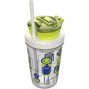 Детский стакан для воды с трубочкой 0.35 л Contigo Snack tumbler (contigo0628) зеленый