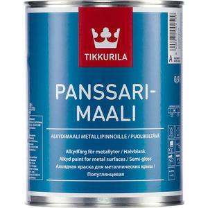 Эмаль по металлу TIKKURILA Panssarimaali ( Панссаримаали ) база С 2.7л.