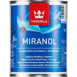 Эмаль TIKKURILA Miranol ( Миранол) тиксотропный база А 0.9л. эмаль алкидная miranol a 0 9л тиксотр