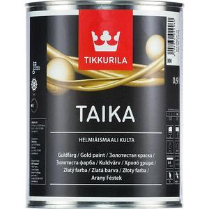 Краска декоративная TIKKURILA Taika Helmiasmaali ( Тайка ) перламутровая серебро НМ 0.9л. цены
