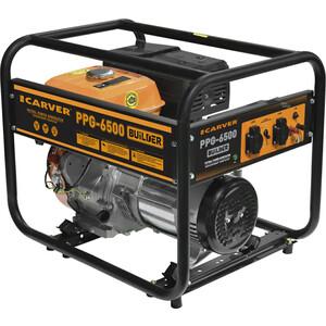 Генератор бензиновый Carver PPG- 6500 BUILDER