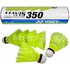 Воланы (пластик) для бадминтона Yonex Mavis 350 Yellow-Middle (Mavis 350) воланы пластик для бадминтона yonex mavis 350 yellow middle mavis 350