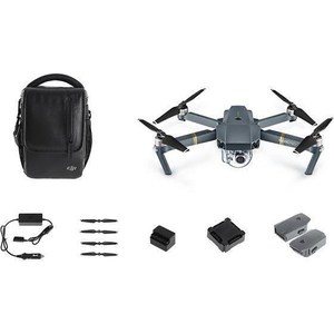 Радиоуправляемый квардрокоптер DJI Mavic PRO (EU) FLY more combo квадрокоптер dji mavic air fly more combo eu onyx black