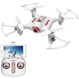 Радиоуправляемый квадрокоптер Syma X21W RTF 2.4G/X2IW FPV REAL-TIME syma x5sw fpv explorers 2 2 4ghz 4ch 6 axis gyro rc headless flying quadcopter drone with hd wifi camera rc drone black white