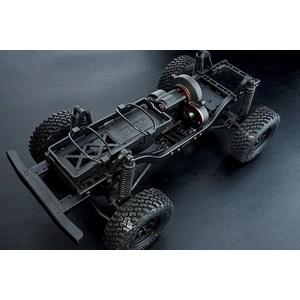 Радиоуправляемый краулер MST CMX 4WD KIT масштаб 1:10 2.4G mst 532141 cmx 1 10 4wd fj40 kit off road car climbing simulation model car