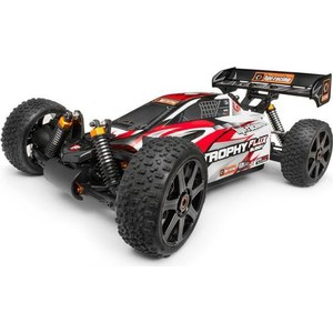 Радиоуправляемый багги HPI Racing Trophy Buggy Flux 4WD RTR масштаб 1:8 2.4G gd багги 1 5 4x4 desert buggy xl 1 5th 4wd rtr