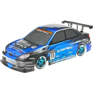 Радиоуправляемая машина для дрифта HSP Flying Fish 1 4WD RTR масштаб 1:10 2.4G - 94123T hsp r025 12mm nitro engine upgrade parts one way bearing hex nut for hsp 1 10 vertex vx28 rc nitro car
