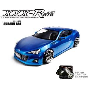 Модель шоссейного автомобиля MST XXX-R SUBARU BRZ Blue 4WD RTR масштаб 1:10 2.4G модель шоссейного автомобиля traxxas xo 1 electric supercar 4wd rtr масштаб 1 7 2 4g