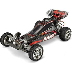 Радиоуправляемый багги TRAXXAS Bandit 2WD TQ Fast Charger RTR масштаб 1:10 2.4G traxxas e revo 4wd rtr электро трагги 1 16 tq 2 4ghz влагозащита new fast charger tra71054 1