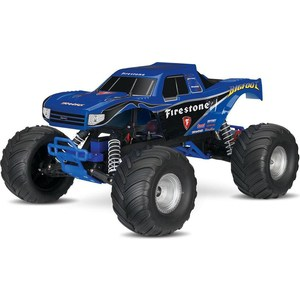 Радиоуправляемый монстр TRAXXAS BigFoot TQ Fast Charger 2WD RTR масштаб 1:10 2.4G traxxas e revo 4wd rtr электро трагги 1 16 tq 2 4ghz влагозащита new fast charger tra71054 1