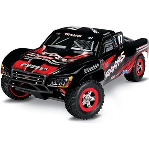 Радиоуправляемый шорт-корс TRAXXAS Slash (NEW Fast Charger) 4WD RTR масштаб 1:16 2.4G traxxas e revo 4wd rtr электро трагги 1 16 tq 2 4ghz влагозащита new fast charger tra71054 1