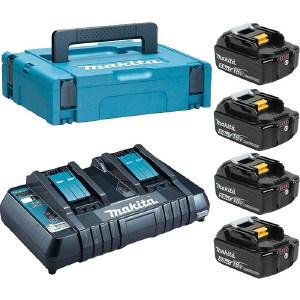 Набор аккумуляторов и зарядное устройство Makita 198312-4