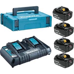 Набор аккумуляторов и зарядное устройство Makita 198489-5