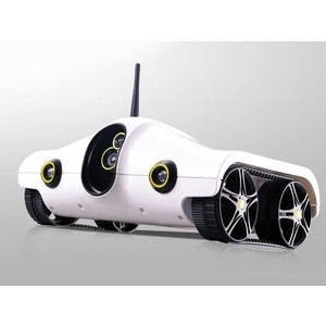 Радиоуправляемый вездеход Brookstone Rover Wi-Fi с передачей изображения масштаб 1:16 2.4G