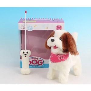 Радиоуправляемая плюшевая собака Create Toys Болонка - 9698B4