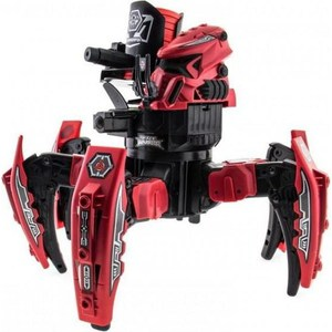 Радиоуправляемый робот-паук Keye Toys Space Warrior с дисками и лазерным прицелом 2.4G
