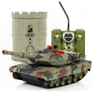 Радиоуправляемый танковый бой Huan Qi HQ550A масштаб 1:28 RTR -