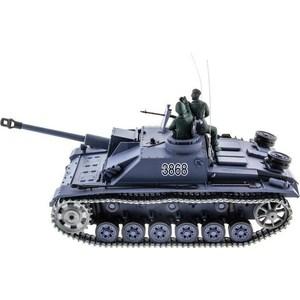 Радиоуправляемый танк Heng Long Sturmgeschutz III HC Pro IR масштаб 1:16