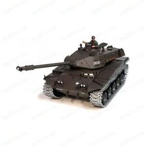 Радиоуправляемый танк Heng Long US M41A3 Bulldog Pro масштаб 1:16 2.4 G- 3839-1 PRO