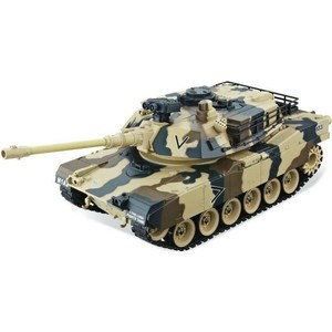 Радиоуправляемый танк HouseHold M1A2 Abrams Yellow Edition масштаб 1:20 40Mhz ohs meng ts026 1 35 us m1a2 abrams tusk i tusk ii main battle tank assembly scale afv model building kits oh