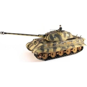 Радиоуправляемый танк Taigen King Tiger HC Metal Edition масштаб 1:16 2.4G