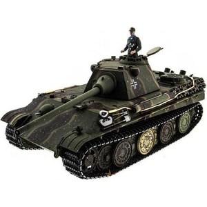 Радиоуправляемый танк Taigen Panther type F HC масштаб 1:16 2.4G taigen kv 1 hc металл 2 4ghz ик