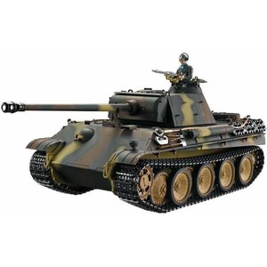 Радиоуправляемый танк Taigen Panther type G HC масштаб 1:16 2.4G taigen kv 1 hc металл 2 4ghz ик