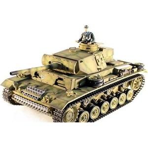 Радиоуправляемый танк Taigen Panzerkampfwagen III масштаб 1:16 2.4G цена и фото