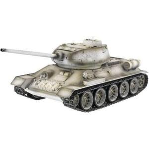 цены Радиоуправляемый танк Taigen Russia T34-85 Winter Camouflage Edition масштаб 1:16 ИК - управление