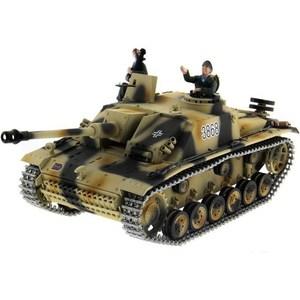 Радиоуправляемый танк Taigen Sturmgeschutz III HC масштаб 1:16 2.4G taigen kv 1 hc металл 2 4ghz ик