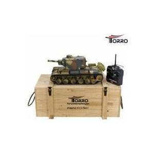 Радиоуправляемый танк Torro Russia КВ-2 ИК RTR масштаб 1:16 2.4G