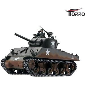 Радиоуправляемый танк Torro Sherman M4A3 RTR масштаб 1:16 2.4G цена и фото