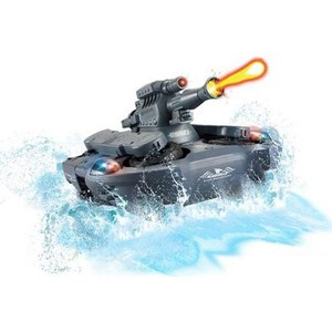 Радиоуправляемый танк-амфибия YED Amphibious Chariot Black Tank 35Mhz tank chassis electronic blocks diy tank robot parts track chassis