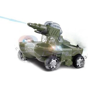 Радиоуправляемый танк-амфибия YED Amphibious Green Tank 35Mhz tank chassis electronic blocks diy tank robot parts track chassis