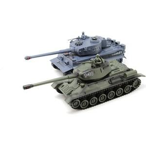 Радиоуправляемый танковый бой MYX T34 Tiger масштаб 1:28 27, 40 МГц