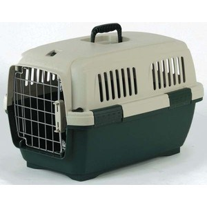 Переноска Marchioro CAYMAN 2 зелено-бежевая 57x37x36h см для животных