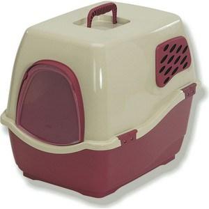 Био-туалет Marchioro BILL 2F коричнево-бежевый 57x45x48h см для кошек туалет ferplast cosmic уличный закрытый с угольным фильтром для кошек 73 5 43 5 41см