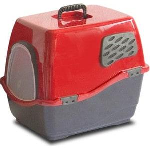 Био-туалет Marchioro BILL 2F рубиново-черный 57x45x48h см для кошек туалет ferplast cosmic уличный закрытый с угольным фильтром для кошек 73 5 43 5 41см